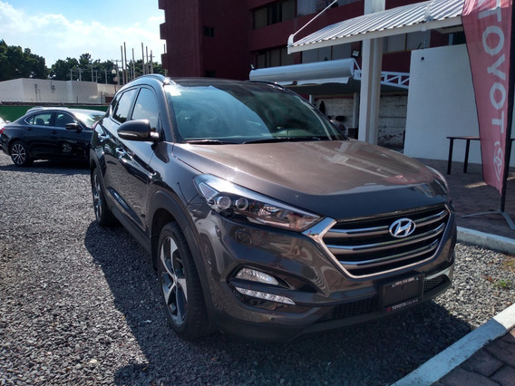 Hyundai Tucson Limited Tech 2018 Color Bronce Automática