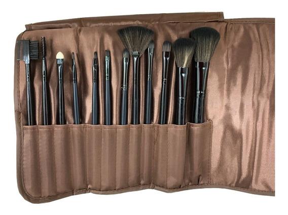 Set De Brochas Maquillaje X 12 Piezas