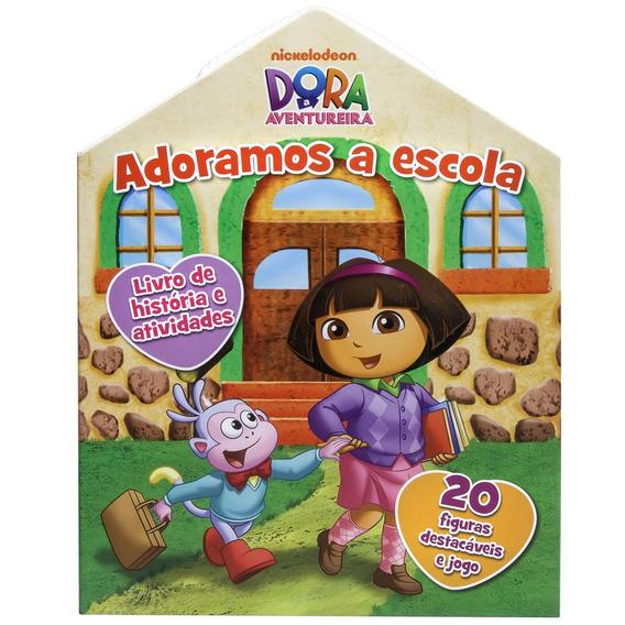 Livro De Histórias E Atividades - Dora A Aventureira - Adora