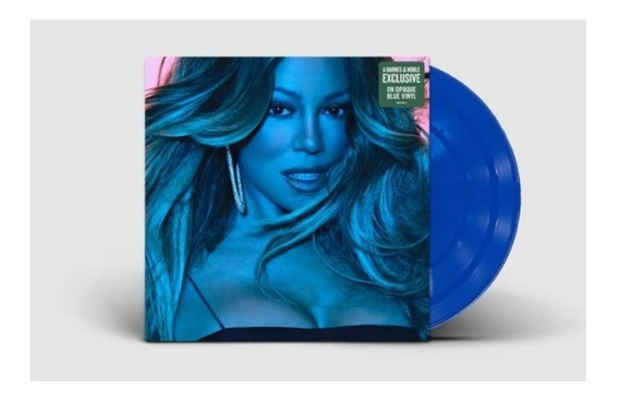 Lp Mariah Carey Caution Vinil Azul Lacrado E Pronta Entrega.