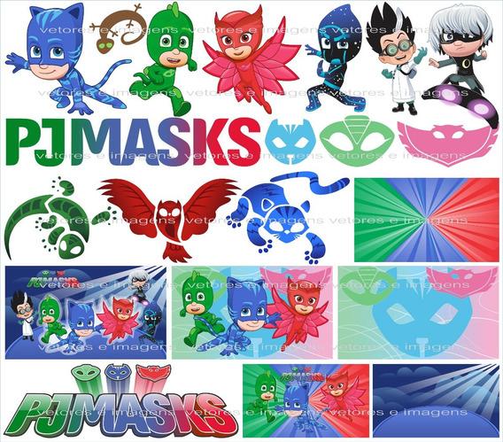 Pj Masks Vetor E Imagens Link Para Download Envio Imediato