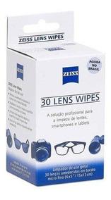 Zeiss Lens Wipes - Lenço Umidecido Solução Para Limpeza