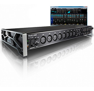 Tascam Us-16x08 Placa Sonido Interface Audio Usb 16 In 8 Out