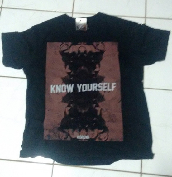 Camiseta Korova Original Usada Pelo Cantor Lucas Lucco