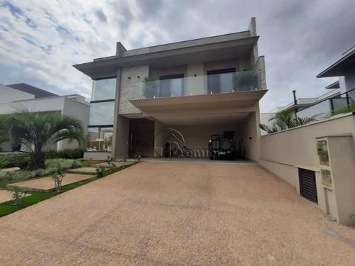 Sobrado Com 4 Suítes À Venda, 400 M² Por R$ 2.200.000 - Jardim Residencial Dona Lucilla - Indaiatuba/sp - So0450