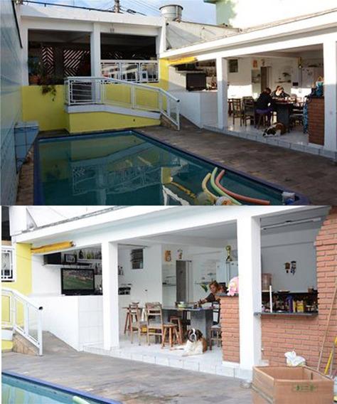 Sobrado 4 Dormitórios Sendo 3 Suites ( Lazer Com Piscina ) À Venda, 600,00 M² Por R$ 1.400.000 - Assunção - São Bernardo Do Campo/sp - So0044