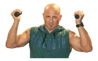 Musculosa Strength Gym Con Capucha Art 7211