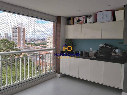Excelente Apartamento De 133 M ² Com 3 Suítes E Varanda Gourmet Na Vila Mariana ! Confira !!!! - Ap3545