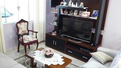 Sobrado Com 3 Dormitórios À Venda, 200 M² - Vila Scarpelli - Santo André/sp - So20219
