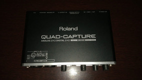Interface Roland Quad-capture Ua55