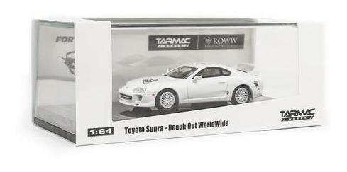 Toyota Supra Roww Reach Out Worldwide - Tarmac 1/64