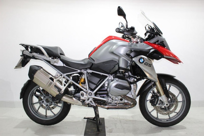 Bmw R 1200 Gs Sport Plus 2013 Vermelha