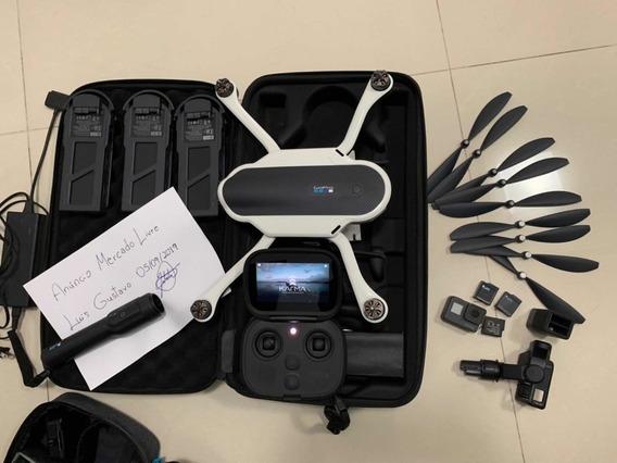 !!imperdível!! Drone Gopro Karma + Camera Gopro Hero 5 Black + 3 Baterias + Carregador + 6 Hélices Extras + Mochila