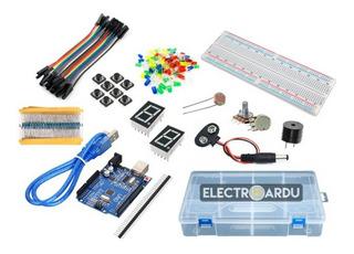 Kit Starter Arduino Uno R3 Componentes Caja / Electroardu