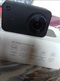 Xiomi Mi 4k Camera De Açao E Boa Para Fazer Moto Vlogs