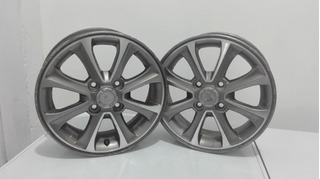Vendo Rines Nro 14, De Lujo Aluminio