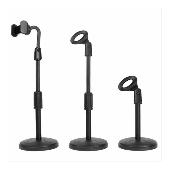 Smart Pedestal Mesa Celular E Microfone Sm 82
