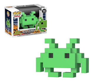 Funko Pop! Medium Invader 33 Space Invaders Muñeco Original