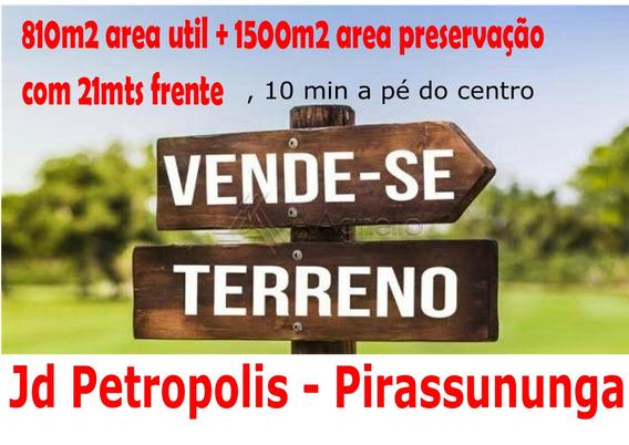 Terreno/chacara -centro Cidade - Pirassununga