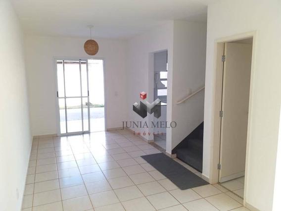 Sobrado Com 3 Dormitórios Para Alugar, 100 M² Por R$ 1.800/mês - Condomínio Vivendas Do Sul Vila Do Golf - Ribeirão Preto/sp - So0140