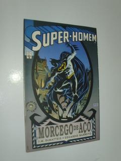 Hq Super-homem - Morcego De Aço -batman - Ed Abril 1994