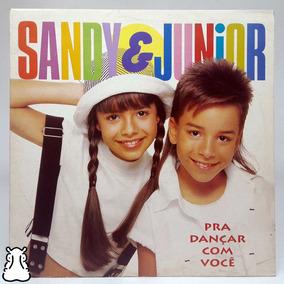 Lp Sandy & Júnior Prá Dançar Com Você Disco Vinil Encarte