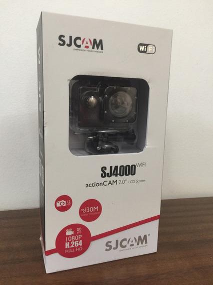 Câmera Sjcam 4000 Sports Full Hd Wi-fi Original + Brindes