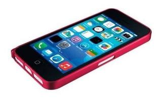 iPhone 5c Funda Bumper Love Mei Rojo Curved Buckle Aluminio