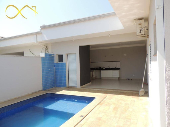 Casa Residencial Para Alugar, 200 M² Por R$ 3.000/mês - Condomínio Campos Do Conde Ii - Paulínia/sp - Ca1781