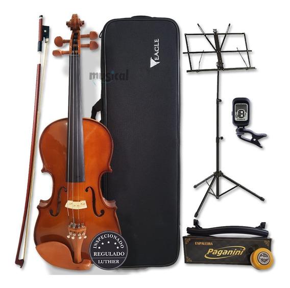Violino Eagle 4/4 Ve441 Com Kit Completo