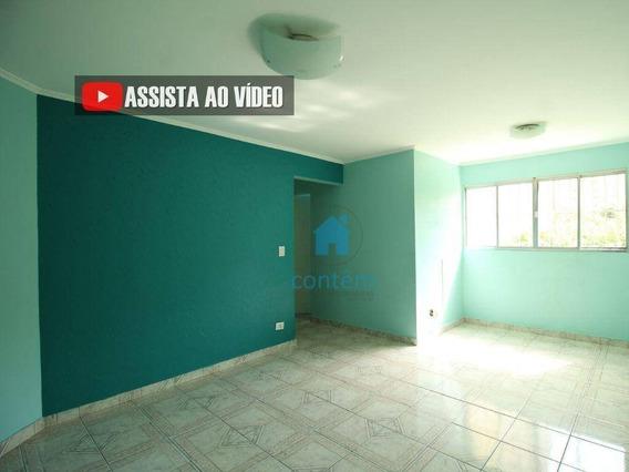 Ap1623- Apartamento Com 2 Dormitórios Para Alugar, 57 M² Por R$ 1.100/mês - Bandeiras - Osasco/sp - Ap1623