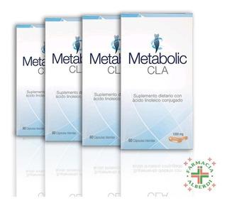 Metabolic Cla Tratamiento Completo! Envio Gratis!