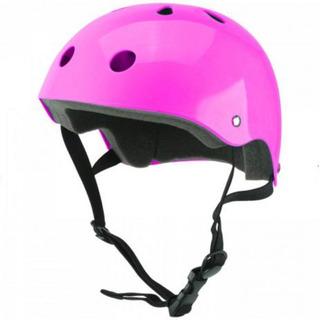 Kit De Proteção Bike Infantil Atrio Es184 Com Capacete Rosa
