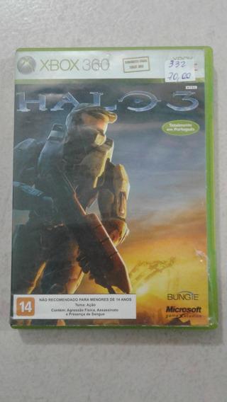 Halo 3 Xbox 360 E Xbox One Mídia Física