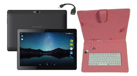 Tablet Função Celular Bluetooth 2 Chip + Capa Teclado Outlet