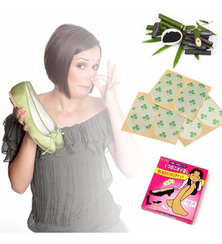¡ 6 Parches Desodorantes Calzado Buen Olor En Tu Zapato !