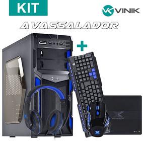 Kit Vx Gaming Avassalador (gabinete Typhoon+mouse Black Wido