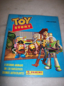 Album De Figurinhas - Toy Story - Completo