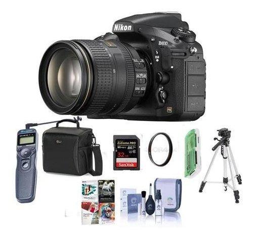 Nikon D810 Dslr Kit Af-s Nikkor 24-120mm F 4g Ed Vr Lente ®