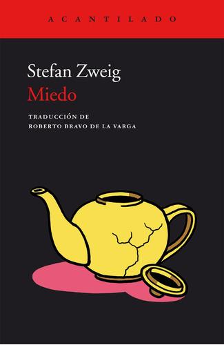 Imagen 1 de 3 de Miedo, Stefan Zweig, Acantilado