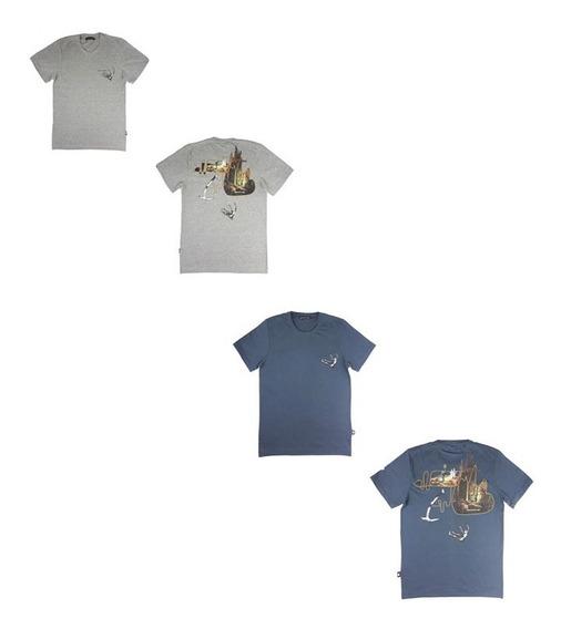 Camiseta Regular Herchcovitch Mcd 2057