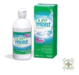 Opti-free Pure Moist 300ml - Liquido Lentes De Contacto