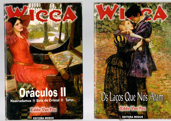 Livro Wicca 2 Livros