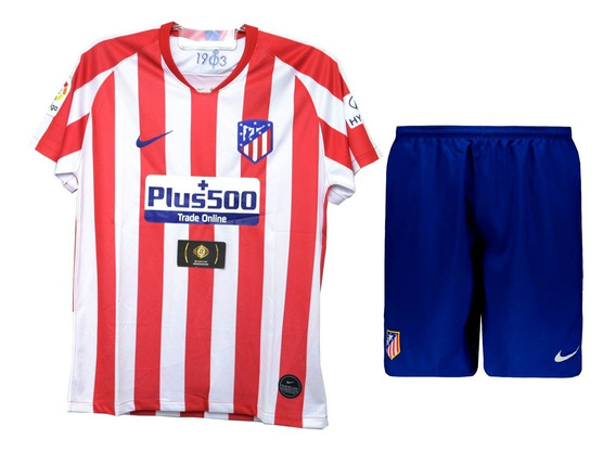 Conjunto Infantil Do Atlético De Madrid Novo - Mega Oferta