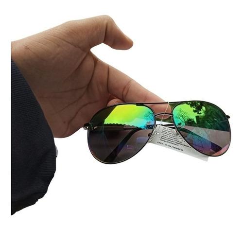 Imagem 1 de 7 de Oculos De Sol Aviador Masculino Feminino Original - Qmaximo