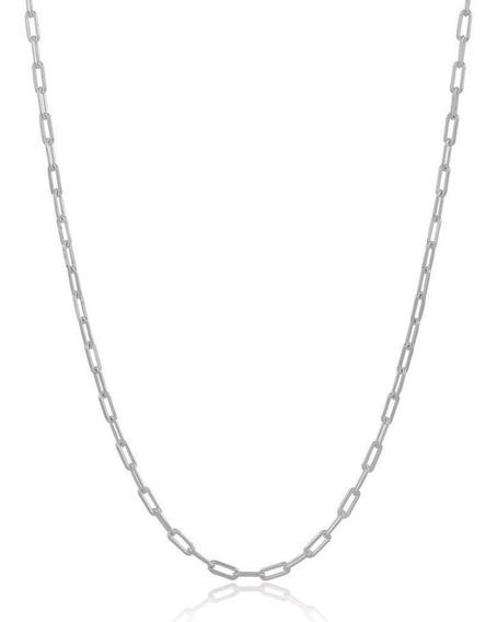 Corrente Masculina Em Prata 925 Cartier 60cm