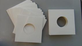 25 Capas Compacto+25 Plásticos + 25 Exter Vinil Disco Novela