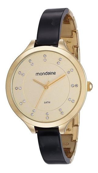 Relógio Mondaine Feminino Dourado 53614lpmvdf2