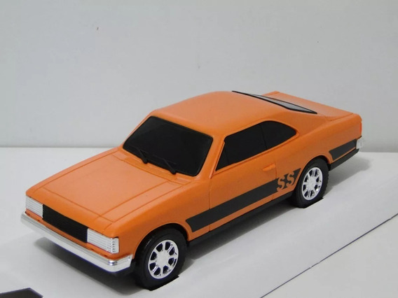 Opala Laranja Miniatura 25cm Esc 1/24 Material Plastico Taxi
