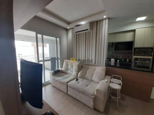Apartamento À Venda, 77 M² Por R$ 577.000,00 - Centro - São Bernardo Do Campo/sp - Ap3050